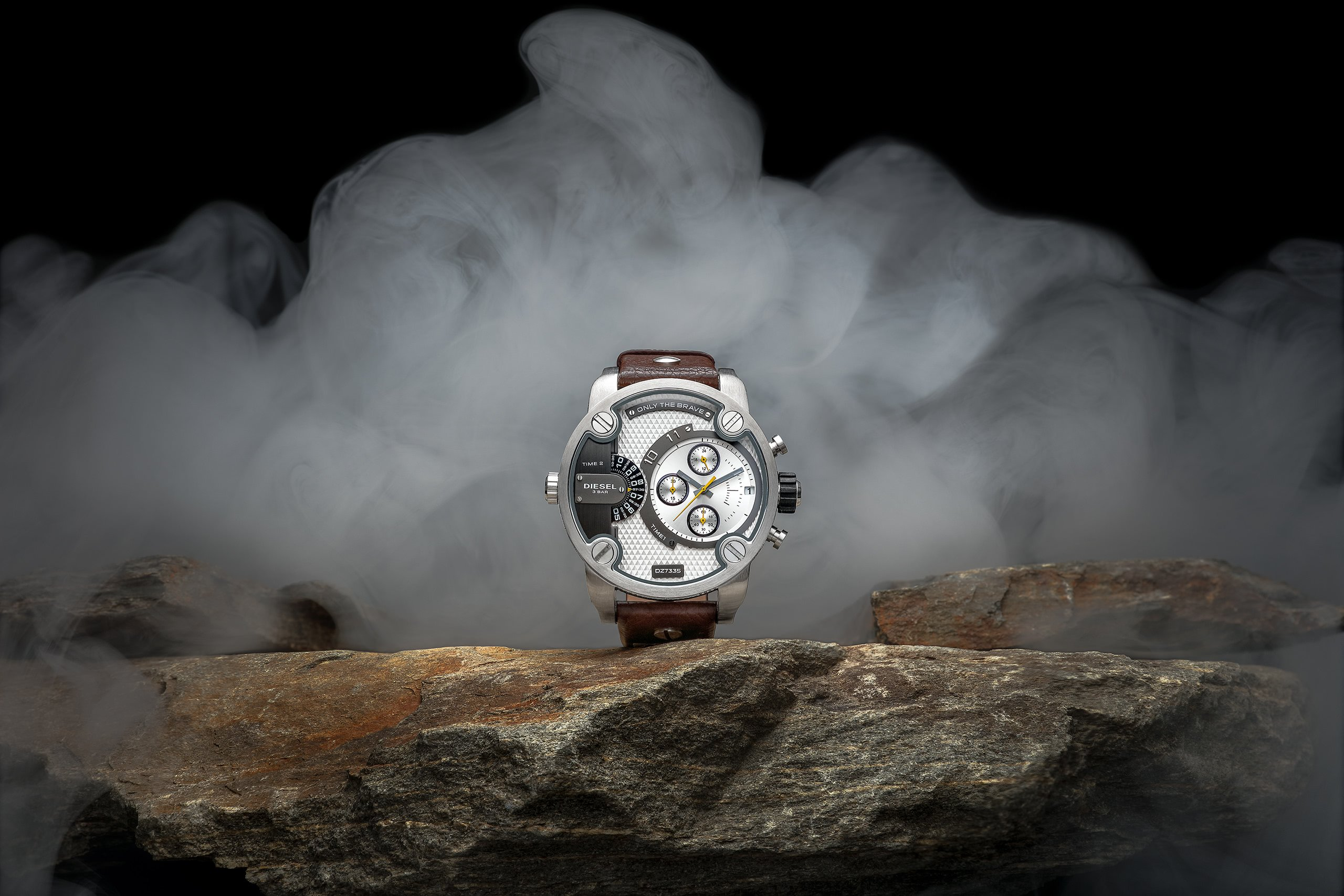 creative mens watch product photography