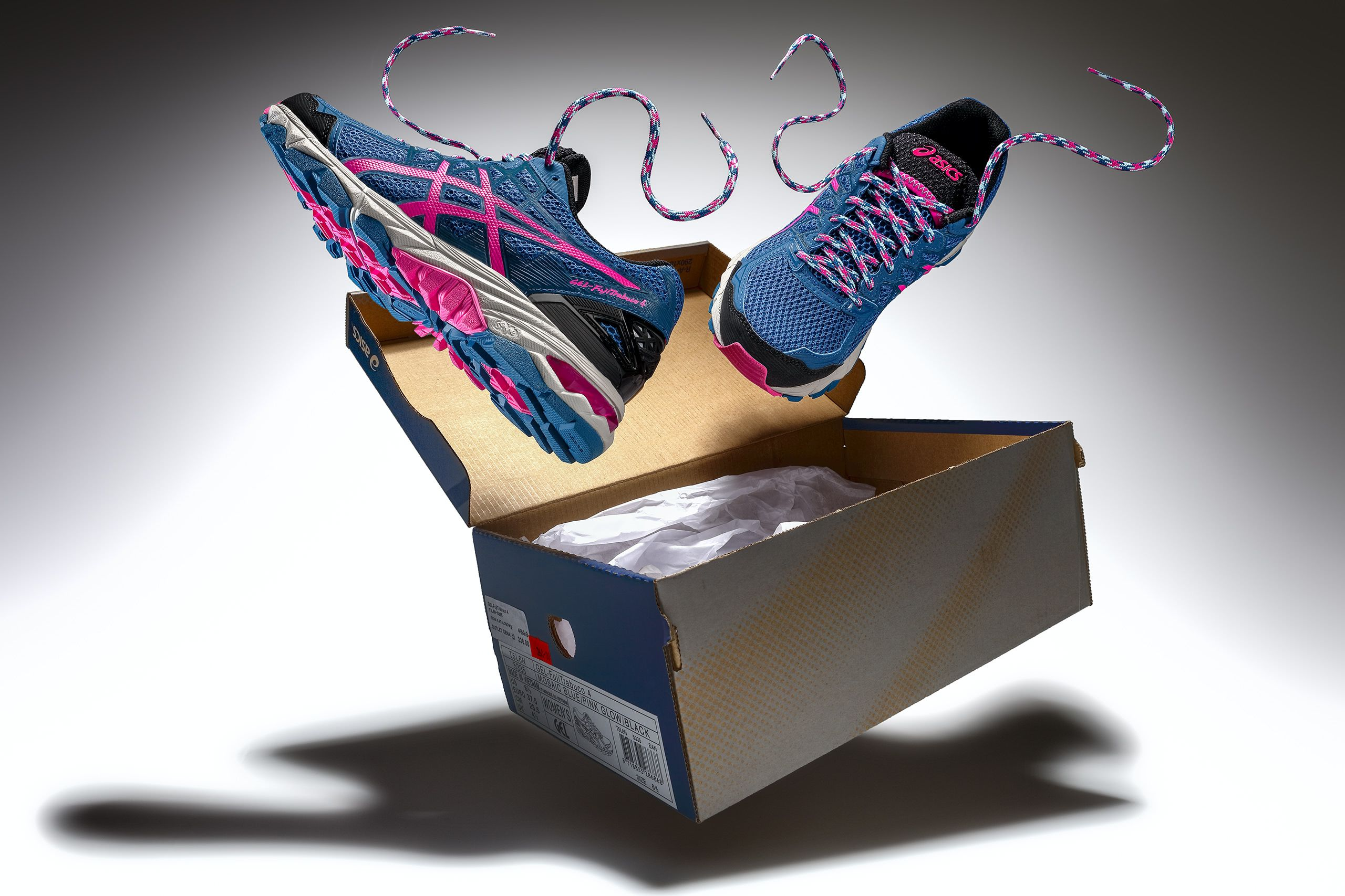 running shoes creative advertising photography